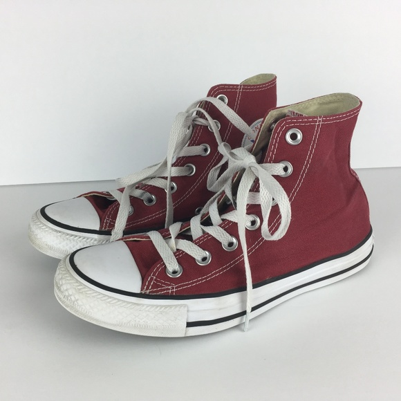 detailed look 6f82d 56781 ... best converse red chuck taylor sneakers womens 7 00686 bbc11
